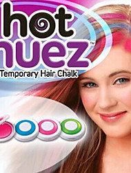 4 Colors Temporary Hair Chalk DIY Hair Styling Easy Color Easy Wash