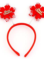 Natale fiocchi di neve cerchio della testa