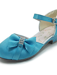 Girls' Shoes Outdoor / Casual Round Toe Leatherette Flats Blue