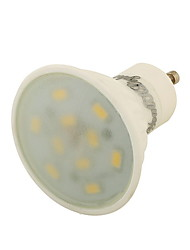 GU10 LED Spotlight 10 SMD 5730 400 lm Warm White Decorative AC 85-265 V 1 pcs