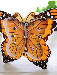 rt borboleta cor de digitalização modelagem relógio