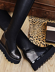 Women's Shoes Roller Skate Shoes / Riding Boots / Fashion Boots / Bootie / Comfort / Novelty / Round Toe Boots