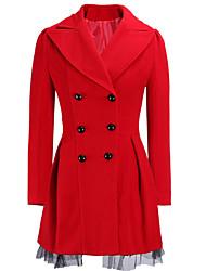 Pulls & Hoodies ( Tweed ) Vintage / Informel Col roulé à Manches longues pour Femme