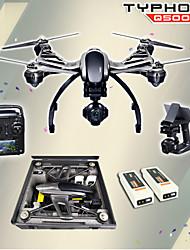 yuneec Q500 caméra 4k avec ST10 10ch émetteur 5.8g fpv quadcopter drone portable batterie double cardan&cas