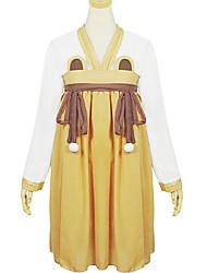 poliéster marrom roupa traje chinês