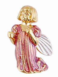 Cute Christmas Angel Brooch Clothing