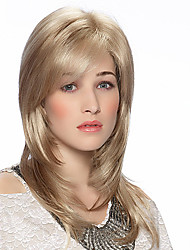 Classy Charming Hand Tied -Top Remy Human Hair Capless Wig for Woman