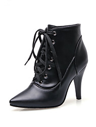Women's Boots Spring / Fall / Winter Fashion Boots / Combat Boots Leatherette Office & Career / Casual Stiletto Heel