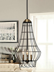Pendant Light ,  Country Painting Feature for Mini Style Metal Living Room Dining Room Study Room/Office Kids Room Entry Hallway