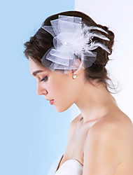 Gorgeous Tulle With Rhinestones Wedding Bridal Headpiece
