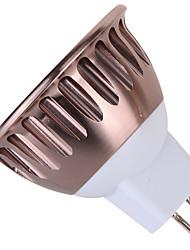 1 pcs GU10 / GU5.3 9W 1 COB 850 LM Warm White / Cool White MR16 Decorative Spot Lights AC 85-265 V