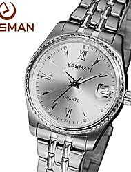 EASMAN® Brand Womens Watches 2015 Fashion Hot Designer Silver Wristwatches Luxury Quartz Watch For Women Ladies Watch Cool Watches Unique Watches