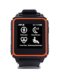 yqt®waterproof monitor del rater cuore smart phone orologio con chiamata vocale Siri compatibile con iOS e Android