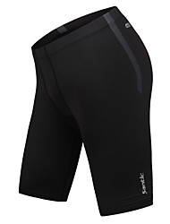 Running Tights / Pants / Bottoms Men's Breathable / Compression Tactel Fitness / Leisure Sports / Running SANTIC High Elasticity Tight