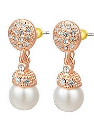 Drop Earrings Women's Imitation Pearl Earring Imitation Pearl