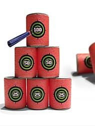 6 pc / set i bambini pistola giocattolo proiettili bersaglio eva morbido per Blasters nerf n-sciopero della serie elite giocattoli