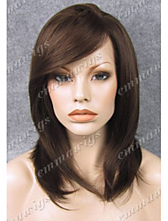 Hot Sale Lace Wig Hand Tied Lace Front Wig on Sale EMMA Wigs the Best Wigs Store Brown Wig Layerd Wig