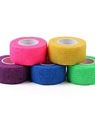 1pcs boa elasticidade não é fácil de quebrar uma boa permeabilidade uma vez que a bandagem adesiva (5 cores)