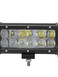 2x 60W LED Work Light Bar Offroad 12V 24V ATV Flood Offroad for  Truck 4x4 UTV