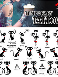Airbrush Tattoos Stickers Non Toxic Glitter Waterproof Multicolored Glitter 1 Package 17*16CM (Color Randomly)