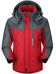 Winter outdoor sports add wool charge cotton-padded clothes male coat quilted jacket cotton-padded jacket male tide