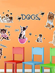 Vacances Stickers muraux Stickers avion , pvc 50x70x0.1cm
