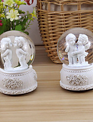 Creative Rotary Music Angel Crystal Ball