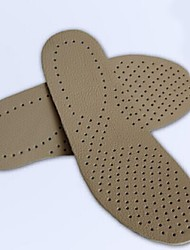 Leather Insoles & Accessories for Insoles & Inserts Green / Khaki  One Pair