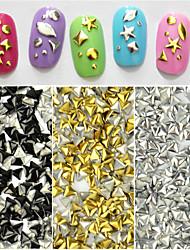 100pcs Triangle Nail DIY Jewelry Nail Rivets