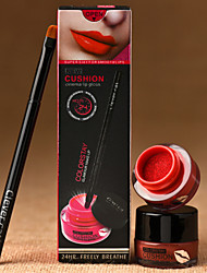 Air Cushion Waterproof Lipstick With Moisturizing Lip Gloss Cushion Cup Does Not Fade