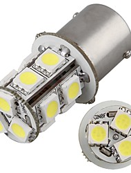 2* Car 1156 BA15S Tail Turn Stop Parking Side Lamp 5050SMD White 13 LED Light 12V