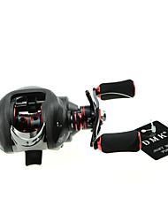 DMK DM120RB-SS 16 Bearing Baitcast Fishing Reel Gear Ratio 7.0:1 Max Drag 4.5kg Right Handle Double  Brake