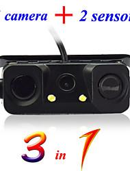 Caméra de recul - 720 x 576 - 480 Lignes TV - 120° - Capteur CCD 1/4 pouce