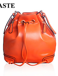 Paste® Hot Selling Vintage Design Women Real Leather Bucket Bag