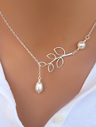 Silver / White Pendant Necklaces Party / Daily / Casual Jewelry