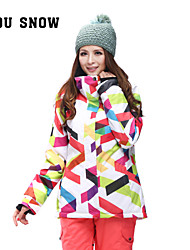 Women's Tops/Ski/Snowboard Jackets Skiing/Camping&Hiking/Snowsports/Downhill /SnowboardingWaterproof/Breathable
