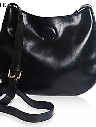 Paste® Vintage Simple Design Real Leather Woman Hand Bag