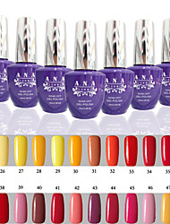 1 Stück ana 192 Farben gelpolish Nagelkunst tränken weg UVnagelgelpoliermittel 15ml 25-48