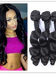 3pcs / lotto capelli vergini economici estensioni dei capelli brasiliani sciolti capelli dell'onda funmi trasformati brasiliane umani