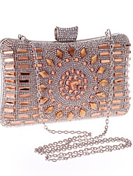 L.WEST® Women's Glass Diamonds Party/Evening Bag