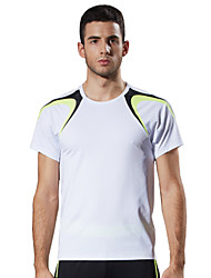 Men's Short Sleeve Drop Weight Under LEFAN ® Dance The Gym Sports Performance Clothing
