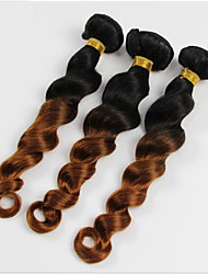 4 Pieces Loose Wave Human Hair Weaves Brazilian Texture Human Hair Weaves Loose Wave