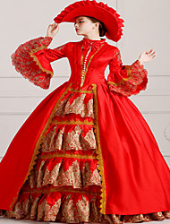 Steampunk®Georgian Red Victorian Ball Gown Marie Antoinette Wholesalelolita Rococo Princess Evening Dress