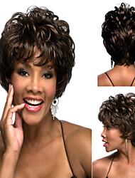 a melhor venda mulheres populares senhora curto perucas de cabelo sintético