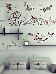Animals / Cartoon / Music / Romance / Still Life Wall Stickers Plane Wall Stickers , PVC 60cm*90cm