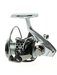 DMK DK2000 Size 12 Bearing Spinning Fishing Reel Gear Ratio 5.2:1 Exchangable Foldable Fresh Water Salt Water