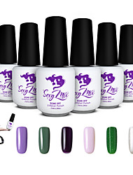 Sexy Mix UV Gel Nail Polish Color Gel for Nail Art Soak Off Gel Polish Set