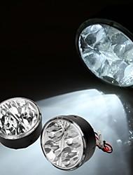 2 * 0.5w blanc 4 LED voiture diurne DRL jour courir lampe de feu de brouillard