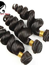 misturar 3pcs tamanho 8-26inch virgem cabelo cor onda solta 1b # do cabelo brasileiro virgem crua não processada humano tece venda quente.