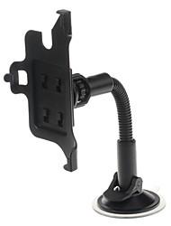 support voiture plastique ventouse universel support de montage pour GPS / téléphone portable - noir